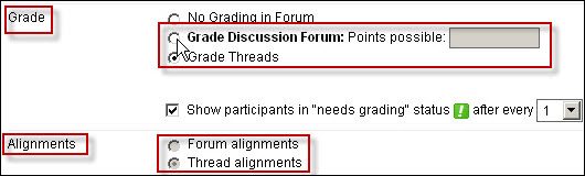 how to create a discussion thread in blackboard